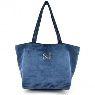 Bolso Shopper Florencia Azul frontal