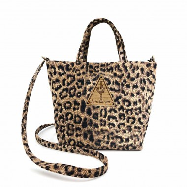 Bolso Petit Bostwana Leopardo Frontal
