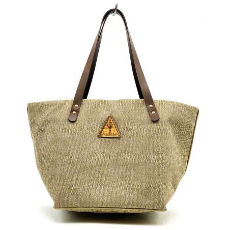 Bolso Shopper Lima Beige frontal