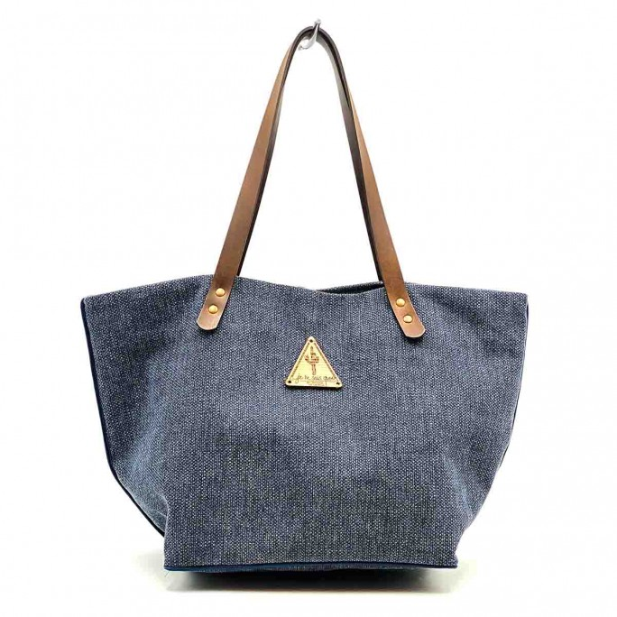 Bolso Shopper Lima Marino frontal