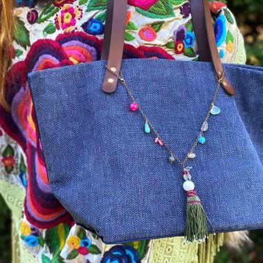 Collar Frida x Verdeagua Style frontal 2