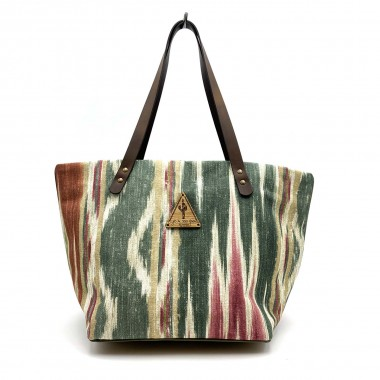 Bolso Shopper Brasil Multicolor Frontal