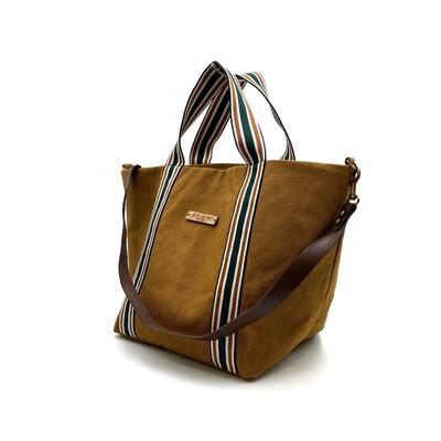𝐍𝐔𝐄𝐕𝐎 𝐄𝐍 𝐋𝐀 𝐖𝐄𝐁 𝐒𝐡𝐨𝐩𝐩𝐞𝐫 𝐋𝐨𝐢𝐫𝐚 𝐜𝐨𝐥𝐨 𝐨𝐜𝐫𝐞 Bolso perfecto para tu día a día  #madetolast #shopperbag #handmade