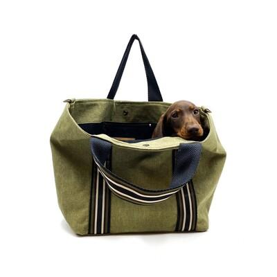 𝐍𝐔𝐄𝐕𝐎 𝐄𝐍 𝐋𝐀 𝐖𝐄𝐁 Shopper Loira color verde kaki. **El perro no esta incluido 🤓   #custombag #shopperbag #bestgift